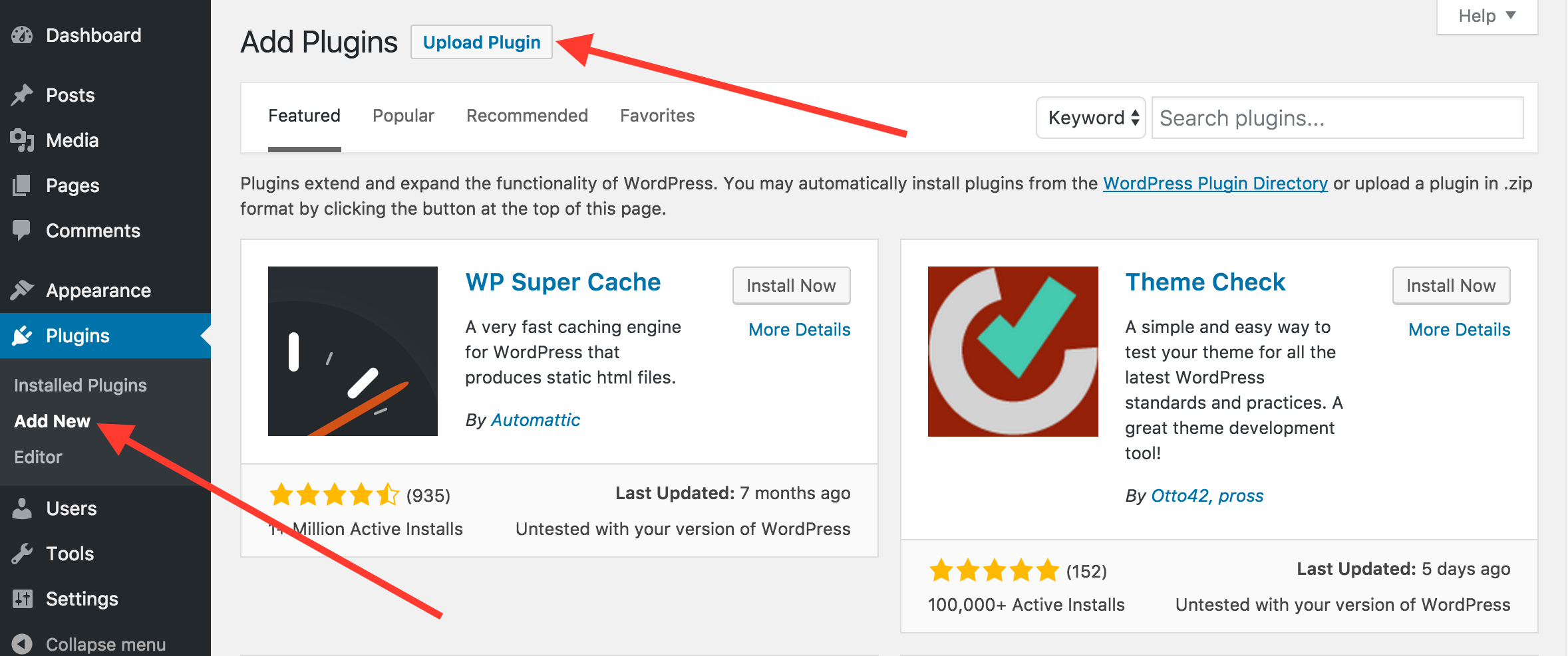 installing all in one seo pack pro semper plugins