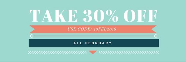 take 30% off