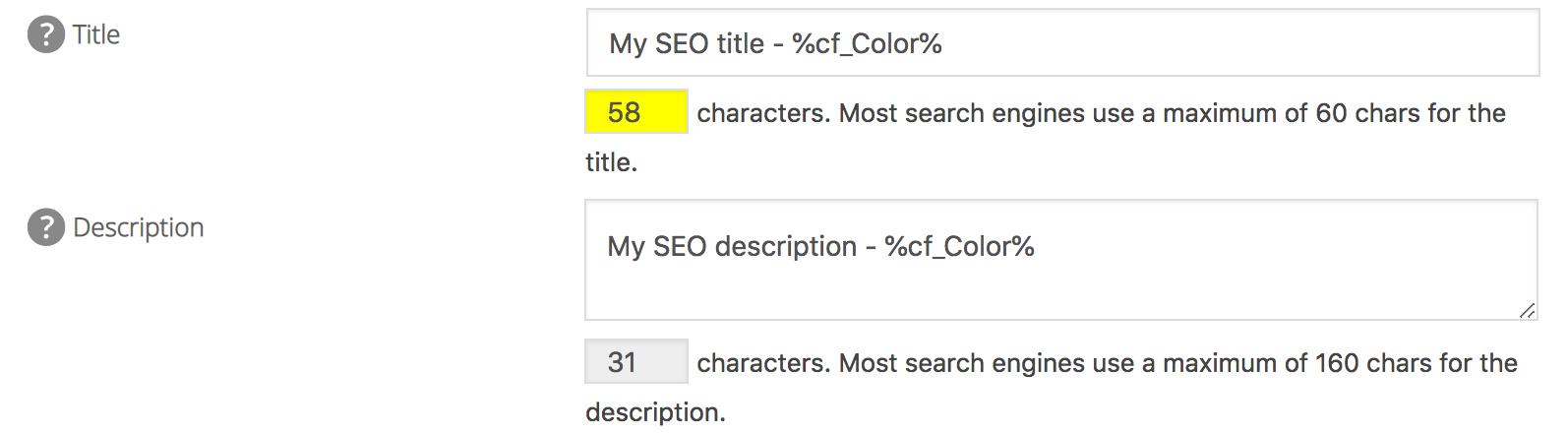 custom fields in edit post screen