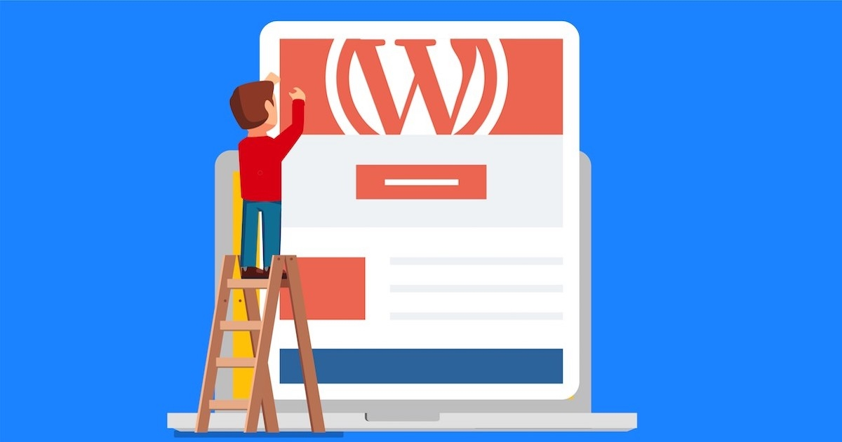 how to set landing page in wordpress